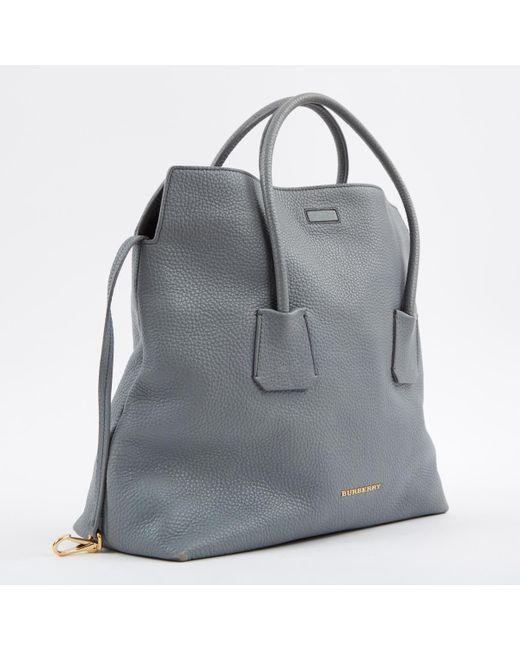 441b376882 ... Burberry - Blue Leather Handbag - Lyst ...