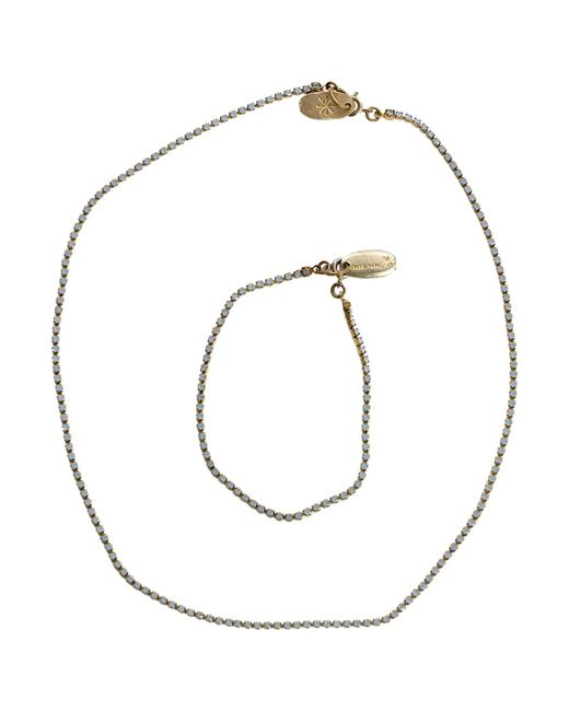 Isabel Marant - Blue Pre-owned Crystal Jewellery Set - Lyst