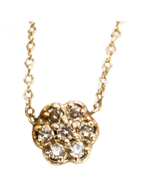 Ginette NY - Metallic Yellow Gold Necklace - Lyst