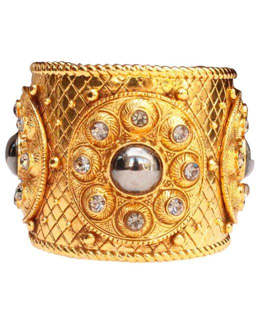 Dior - Metallic Gold Metal - Lyst