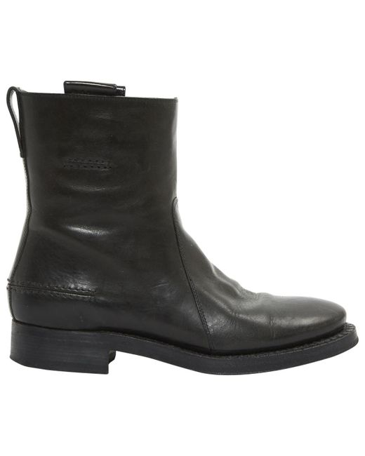 Dior - Black Boots en cuir for Men - Lyst