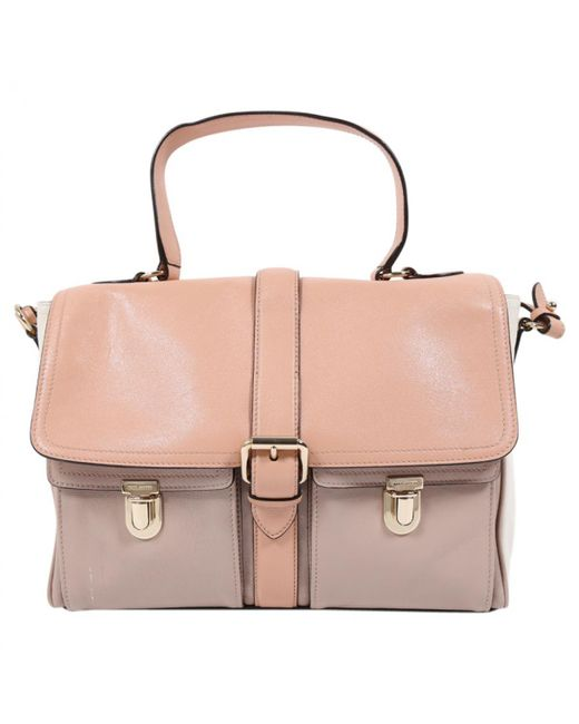 Marc Jacobs - Pink Pre-owned Single Leather Satchel - Lyst