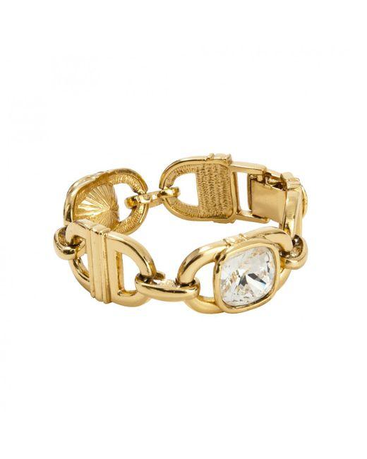 Dior - Metallic Gold Metal Bracelet - Lyst