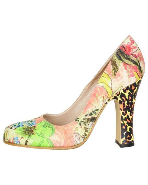 Vivienne Westwood - Natural Leather Heels - Lyst