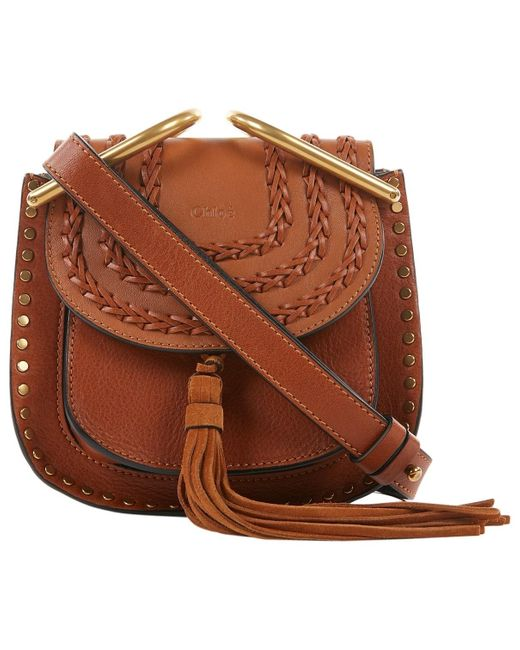 Chloé Hudson Brown Leather Handbag