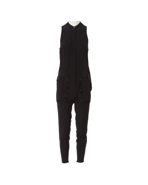 Barbara Bui - Black Silk Jumpsuits - Lyst