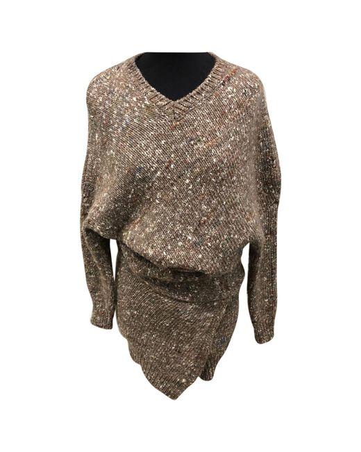 Stella McCartney - Natural Beige Wool Knitwear - Lyst