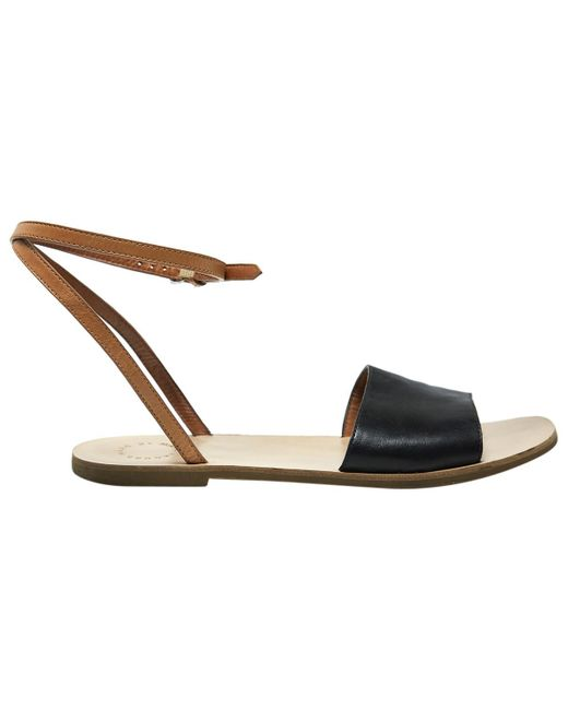 Marc By Marc Jacobs - Black Leather Sandals - Lyst