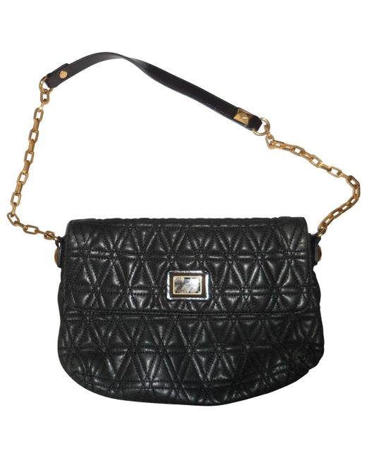 Marc By Marc Jacobs - Black Pre-owned Leather Handbag - Lyst