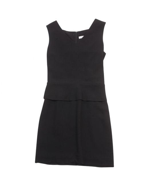 Chloé - Black Viscose Dress - Lyst