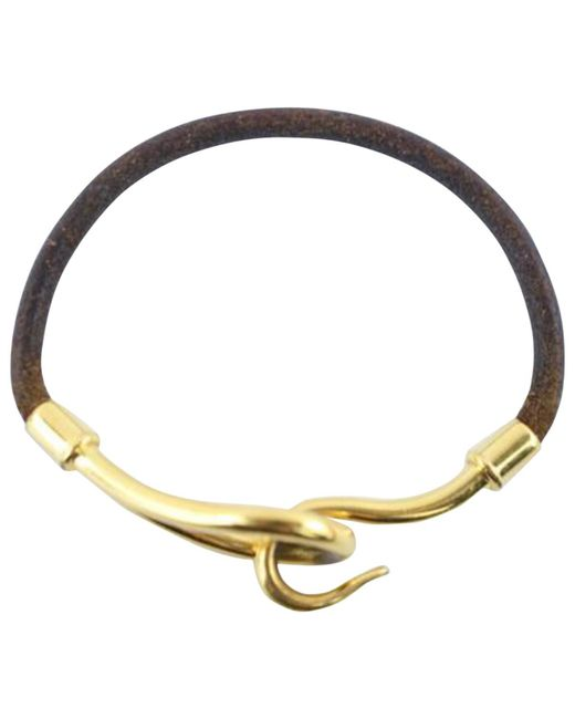 Hermès - Brown Pre-owned Jumbo Bracelet - Lyst