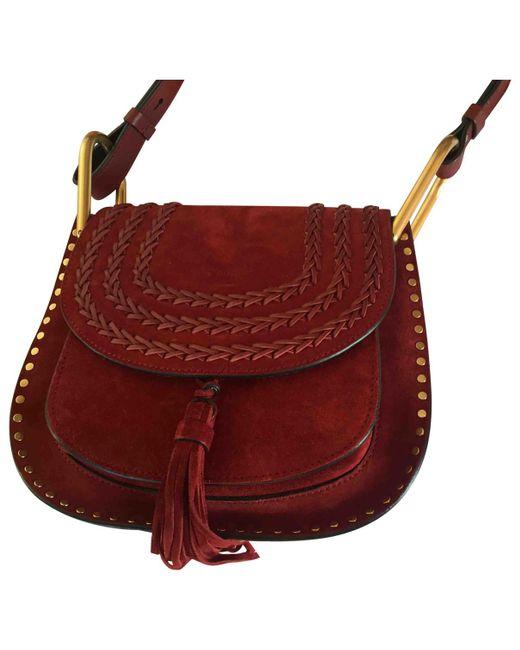 Chloé - Red Hudson Crossbody Bag - Lyst