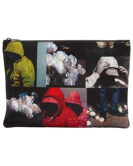 Dior - Pre-owned Black Cloth Clutch Bags - Lyst