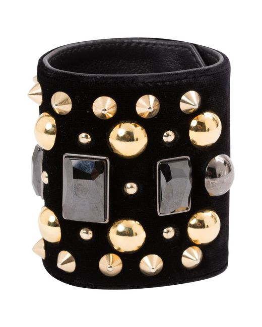 Givenchy - Blue Pre-owned Navy Metal Bracelets - Lyst