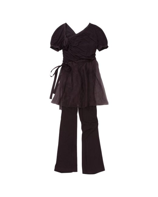 Chanel - Purple Silk Jumpsuit - Lyst
