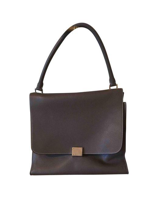 Celine Pre-owned - Trapèze leather tote bag 324JCDtqR