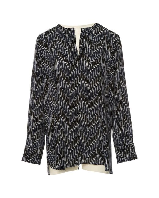 Marni - Blue Pre-owned Navy Silk Tops - Lyst