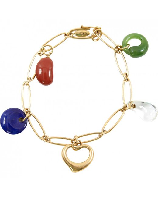 Tiffany & Co - Metallic Yellow Gold Bracelet - Lyst