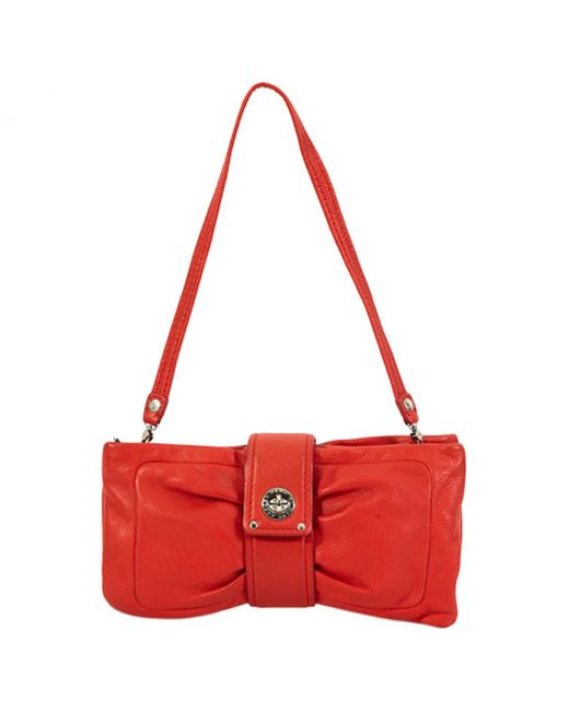 Marc By Marc Jacobs - Pre-owned Red Leather Clutch Bags - Lyst