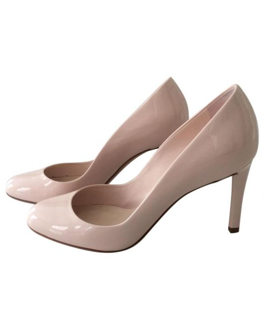 Dior - Pink Pre-owned Patent Leather Heels - Lyst