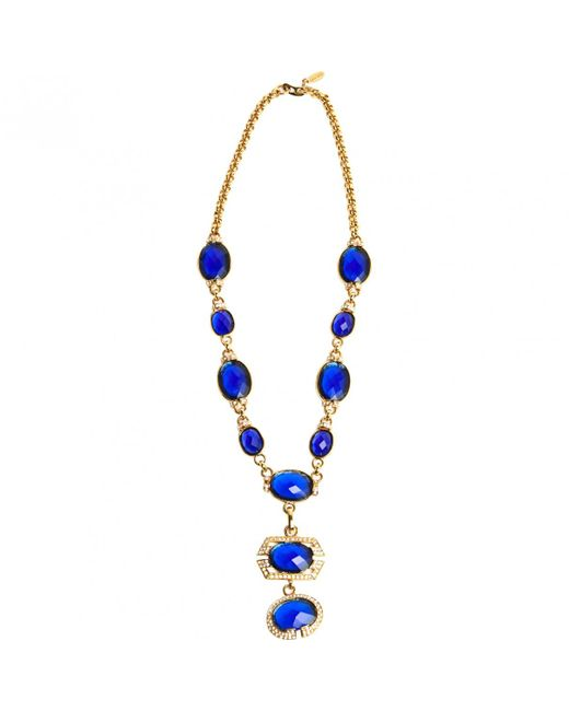 Roberto Cavalli - Metallic Pre-owned Necklace - Lyst