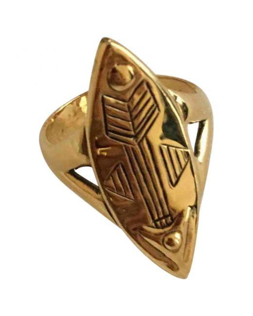 Chloé | Metallic Pre-owned Ring | Lyst
