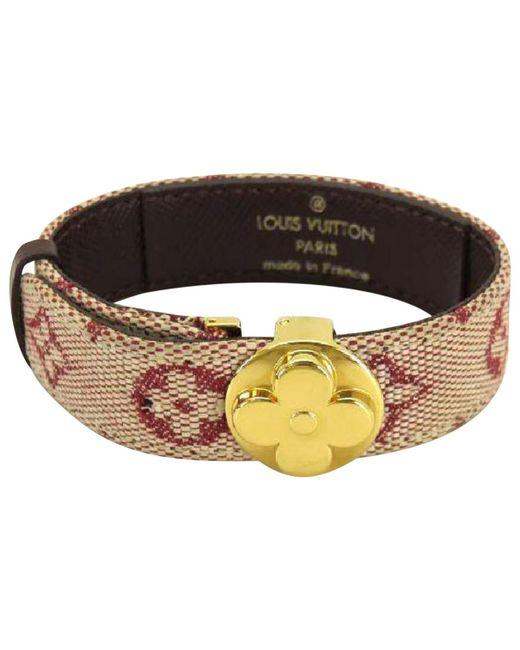Louis Vuitton - Metallic Monogram Bracelet - Lyst