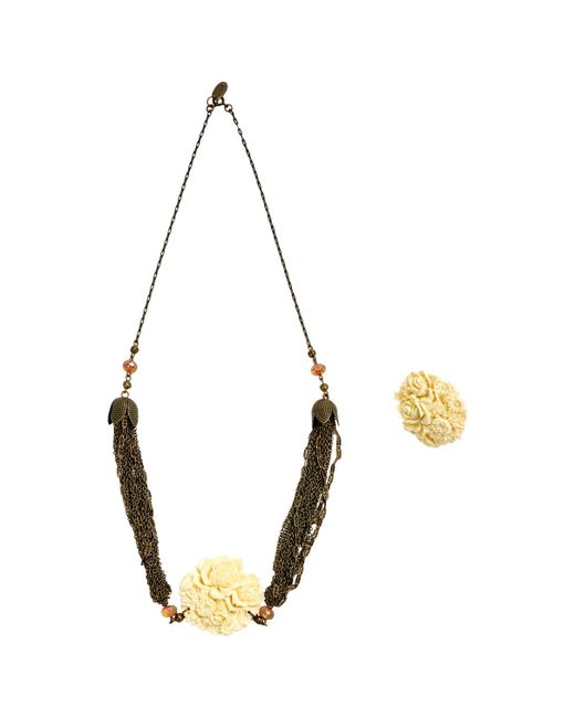 Isabel Marant | Metallic Pre-owned Jewellery Set | Lyst