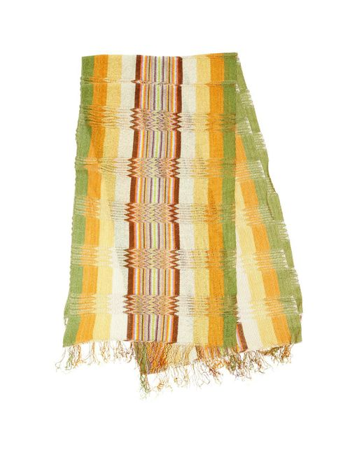Missoni - Yellow Scarf - Lyst