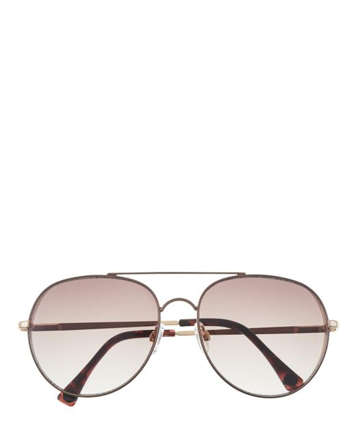 Vince Camuto - Multicolor Rounded Aviator Sunglasses - Lyst