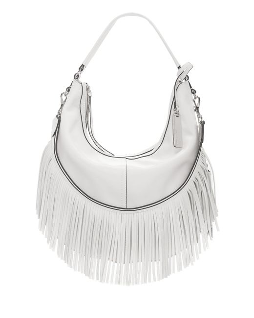 Vince Camuto | White Hil – Fringed-strap Hobo | Lyst