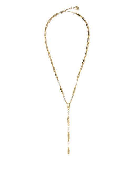 Vince Camuto   Metallic Goldtone Pavé-accent Y-necklace   Lyst