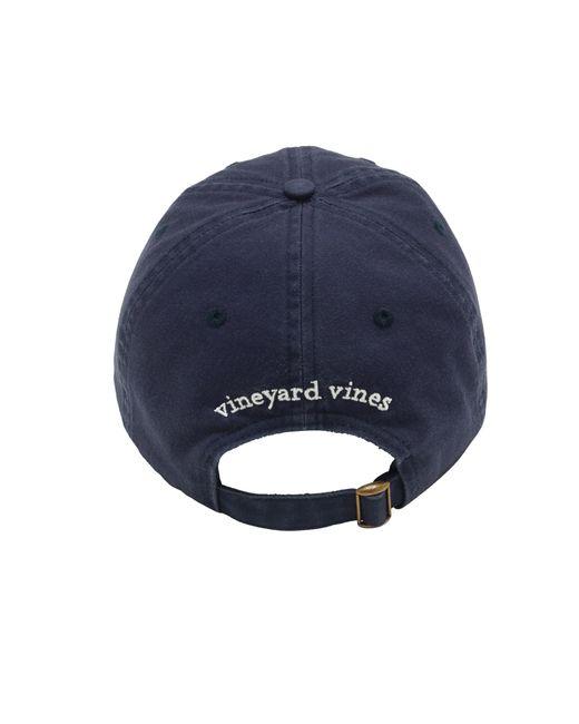 ab607b61d95f2 ... Vineyard Vines - Blue Whale Logo Baseball Hat for Men - Lyst ...
