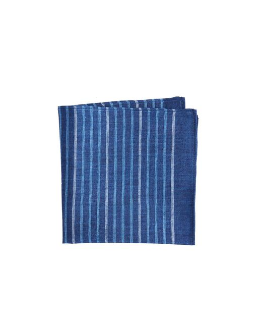 Vineyard Vines - Blue Surfsong Indigo Stripe Woven Pocket Sqaure for Men - Lyst