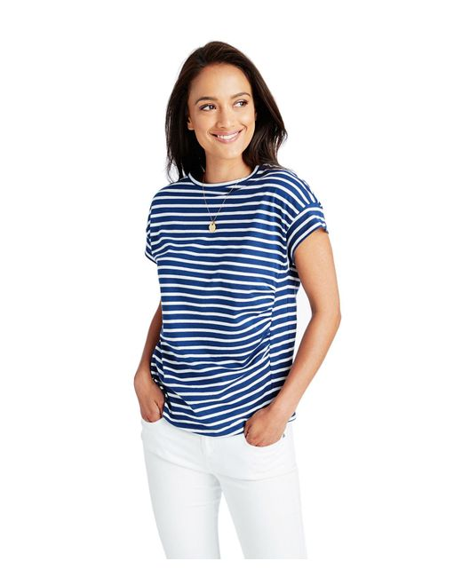 Vineyard Vines - Blue Short-sleeve Nautical Stripe Tee - Lyst