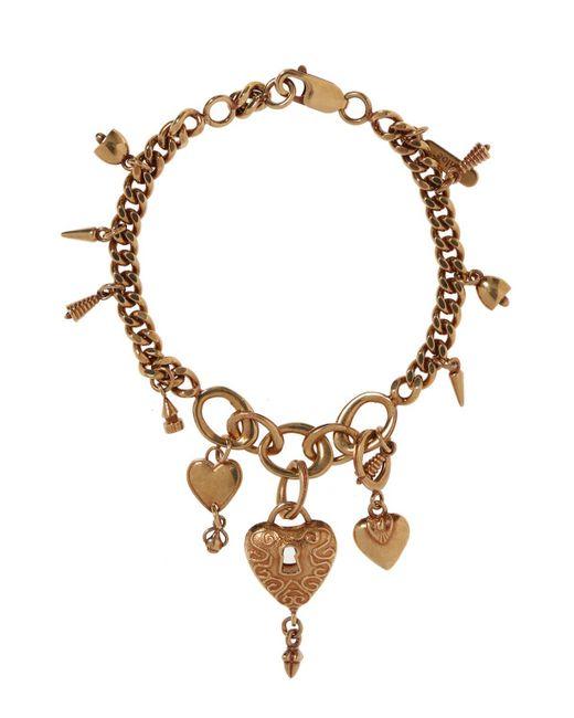 Chloé - Metallic Bracelet With Charms - Lyst