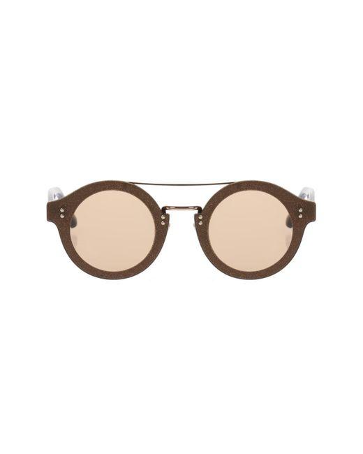 Jimmy Choo - Metallic 'montie' Sunglasses - Lyst