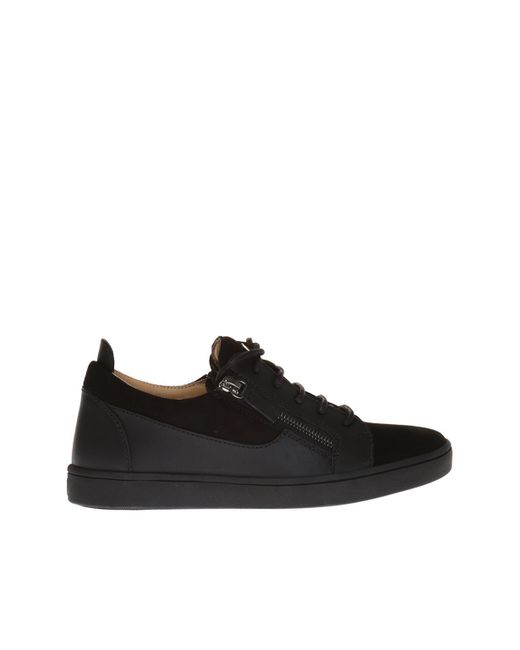 Giuseppe Zanotti - Black 'nicki' Sneakers - Lyst