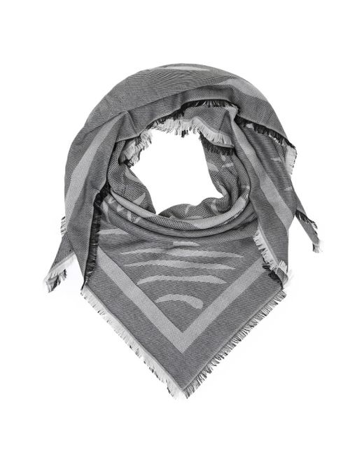 KENZO - Gray Tiger Head Shawl for Men - Lyst