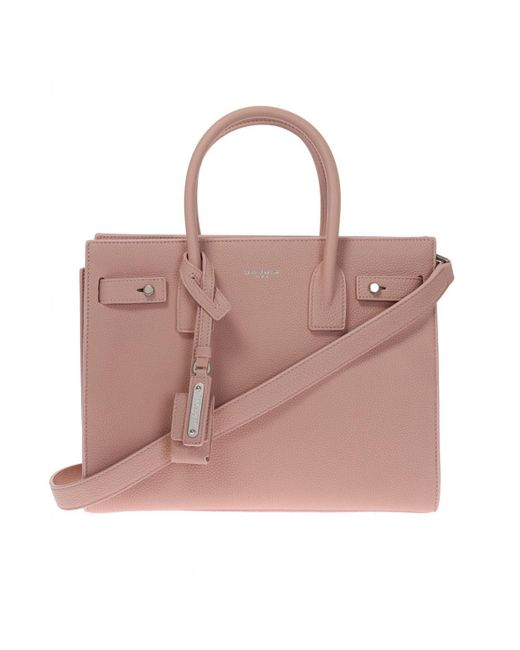 Saint Laurent - Pink 'sac De Jour' Shoulder Bag - Lyst