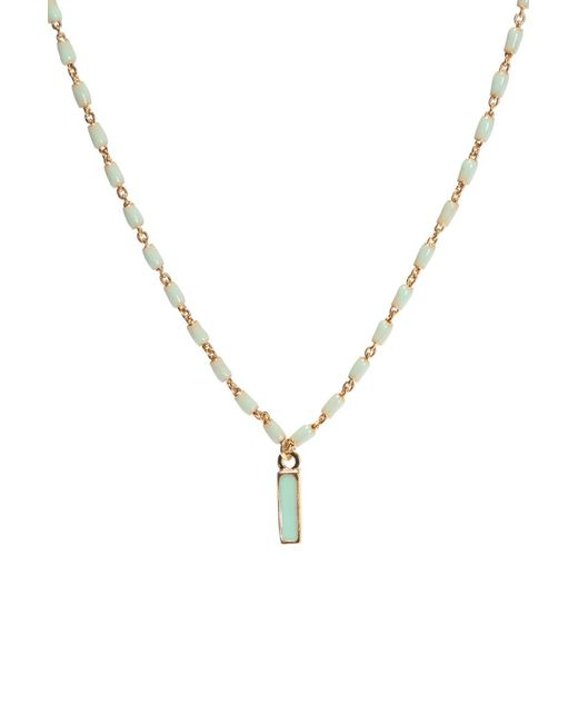 Isabel Marant - Metallic Necklace With Beads - Lyst