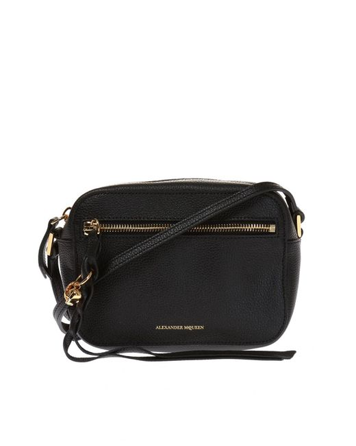 Alexander McQueen - Black Braided Fringe Shoulder Bag - Lyst