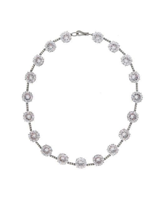 Bottega Veneta - Metallic Silver Necklace - Lyst