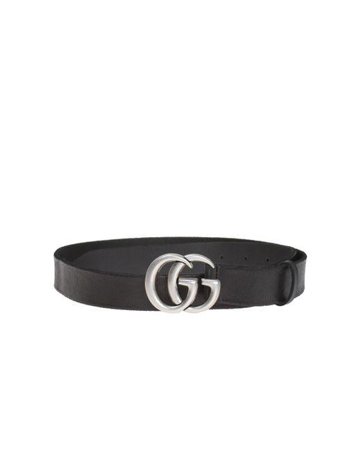 Gucci - Black Logo-buckled Belt for Men - Lyst