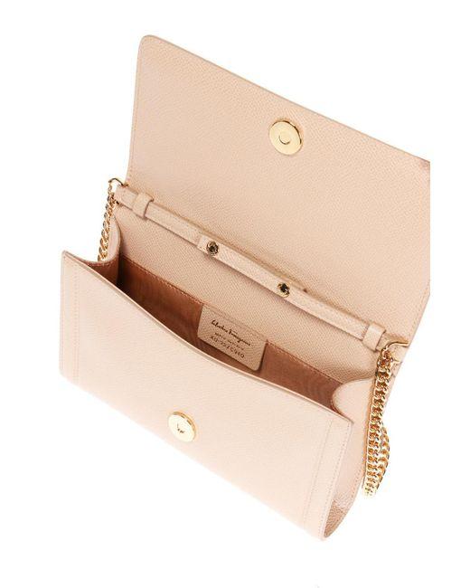 7d8f94956192 ... Lyst Ferragamo - Natural  vara  Shoulder Bag ...