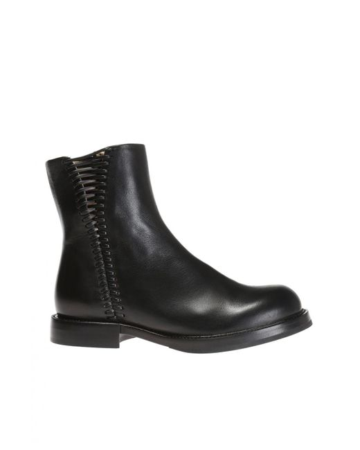 DIESEL - Black 'd-komb Boot Wcb' Ankle Boots - Lyst
