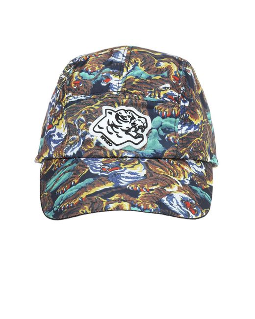 KENZO - Blue Baseball Cap for Men - Lyst