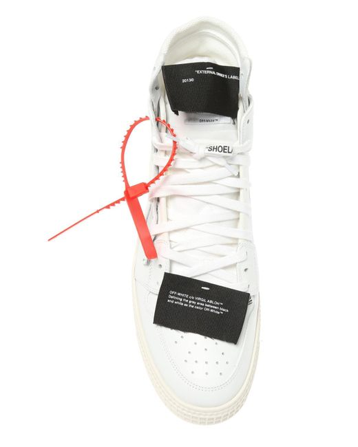 d580e119434f6 Lyst - Off-White c o Virgil Abloh  low 3.0  High-top Sneakers in ...