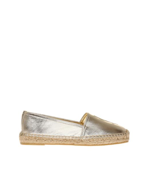 monogram espadrilles - Metallic Saint Laurent KvJj1FLIv