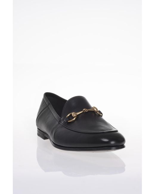 78fc183dc Lyst - Gucci Leather Loafers in Black for Men - Save 16%